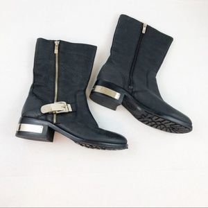 Vince Camuto Wex Moto Leather Boots